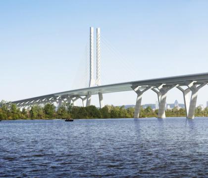 Futur pont sur le Saint-Laurent
