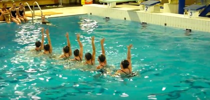 Nage synchronis e brossard rive sud express for Club piscine rive sud