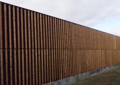 Modèle de  mur antibruit.