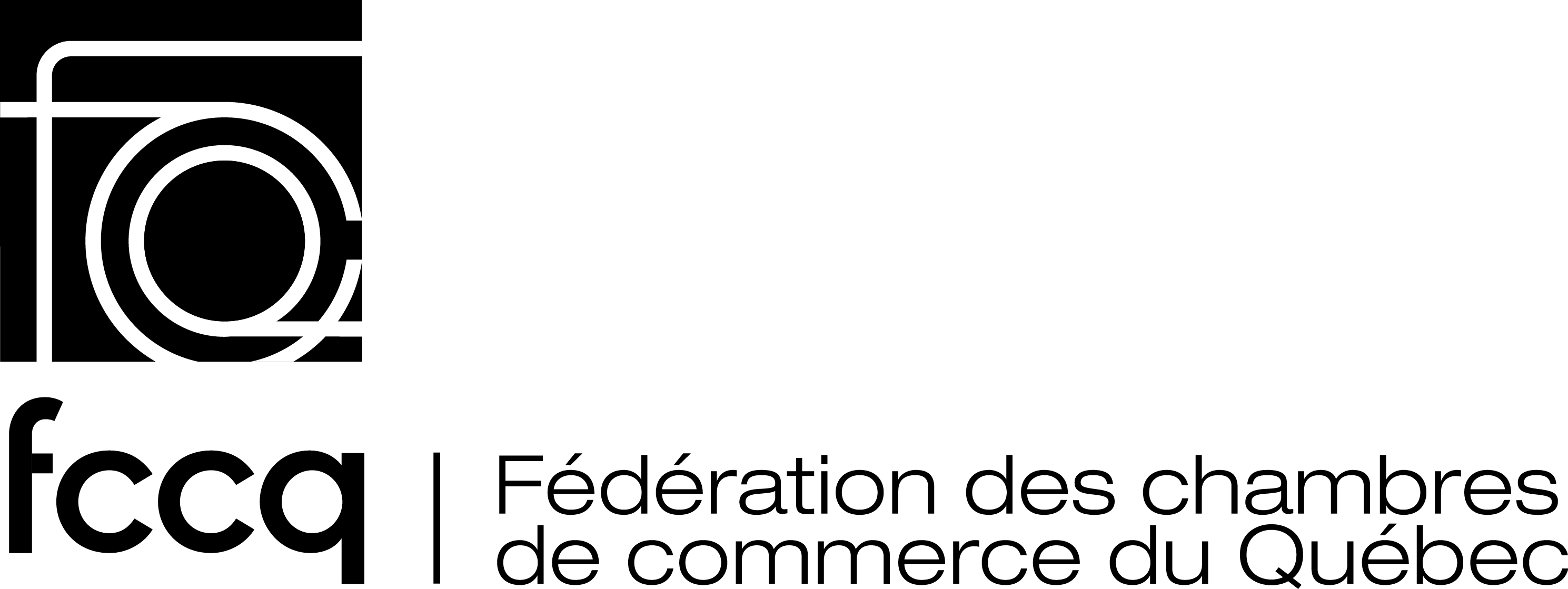 Logo fccq signature noir rive sud express for Chambre de commerce de la rive sud