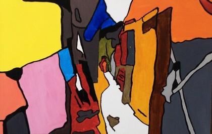 Les œuvres de l'artiste Denis Bordeleau sont présentées jusqu'au 24 mars à la galerie Renée-Blain, située au centre socioculturel de Brossard.