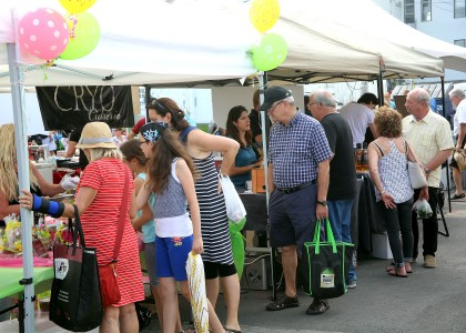 Ouverture de la nouvelle saison du marché public de Sainte-Julie