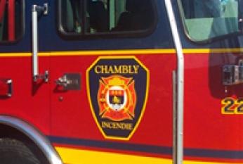 Le climat est tendu entre le Syndicat des pompiers de Chambly et l'administration municipale.