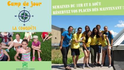 Découvrez un camp de jour offert à tous les enfants de 6 à 12 ans  à Saint-Lambert.