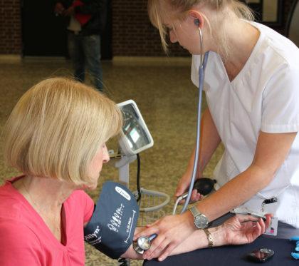 Services offerts gratuitement à toute la population à la Clinique de la santé du cégep Édouard-Montpetit.