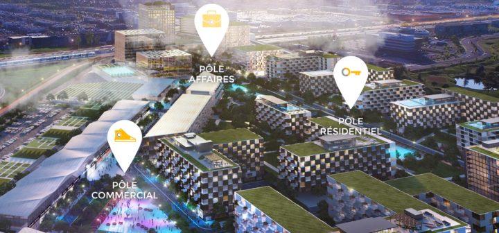 Représentation du projet Solar Uniquartier.