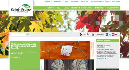 Saint-Bruno-de-Montarville a mis en ligne un nouvel outil pour visiter les sites de la ville.