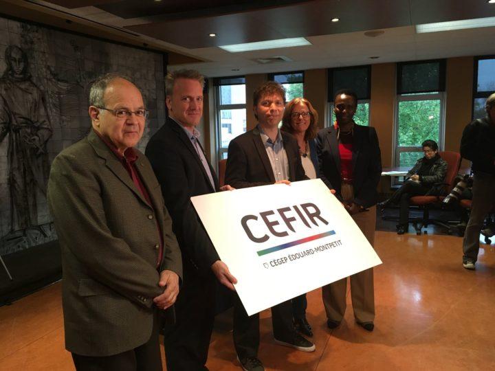 Les membres du entre d'expertise et de formation sur les intégrismes religieux et la radicalisation (CEFIR).