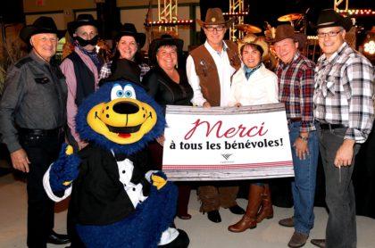 Le conseil municipal lors de la Soirée des bénévoles de Varennes le 21 octobre dernier.