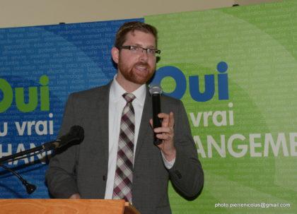 Le député Xavier Barsalou-Duval.