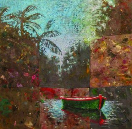 oeuvre signée de l'artiste Benoit Desfossés.