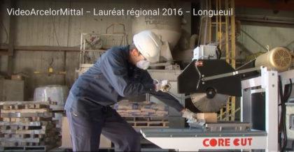ArcelorMittal Produits longs Canada – Aciérie Contrecoeur-Ouest inc, récipiendaire d'un prix au Gala régional de la CNESST.
