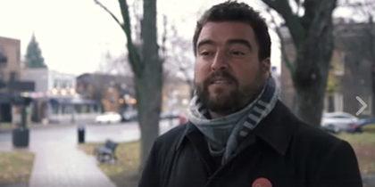 Le candidat de QS, Carl Lévesque veut lancer un projet-pilote pour un salaire minimum majoré.