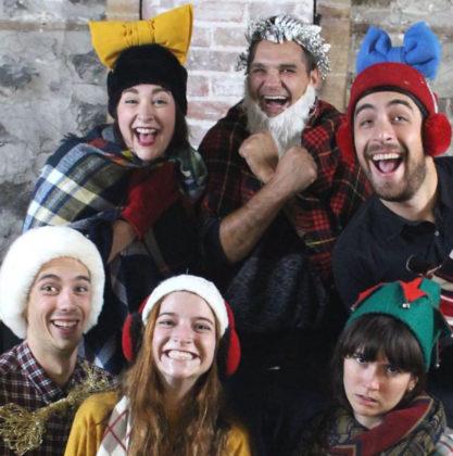 La troupe de théâtre du 450 offre une pièce pour le temps des Fêtes.