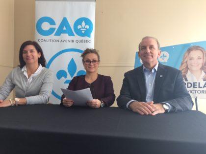 La Candidate de la CAQ fait trois propositions pour mettre fin à la congestion routière à Longueuil.