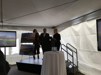 Début des travaux de construction du nouveau siège social du Groupe Lumenpulse et de son premier centre d'expérience immersif au Québec.