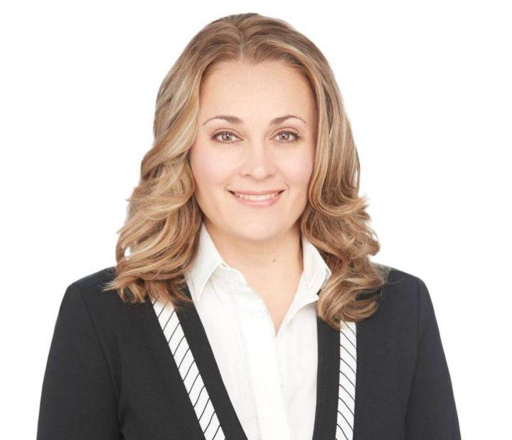 La candidate pour la CAQ dans Marie-Victorin, Julie Chapdelaine.